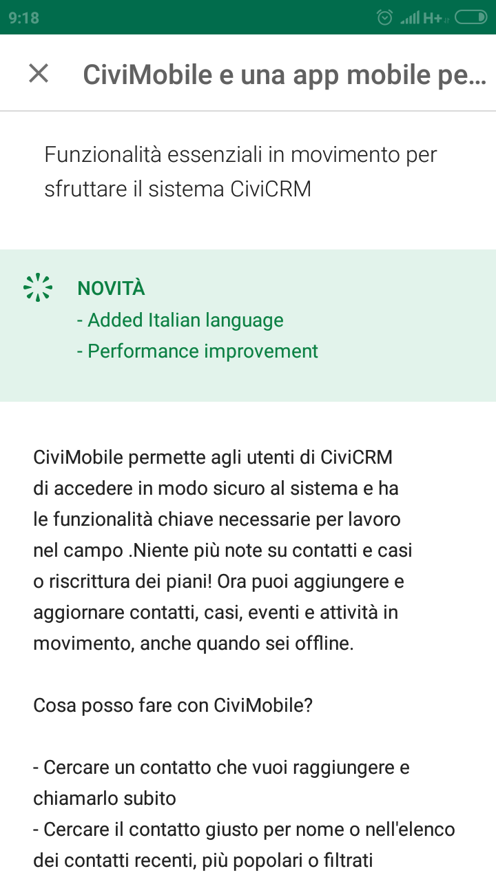 CiviMobile Store